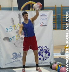 Pisarovina 2011 - kettlebell LC competition