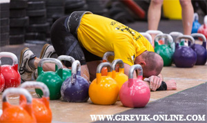 First kettlebell competition in Manchester 2013